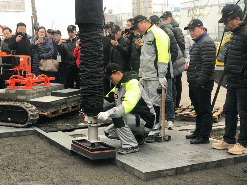 中国砌块协会现场参观