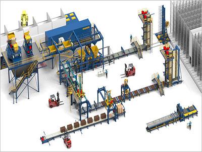 欧贝姆引进德国全套玛莎透水砖生产线
