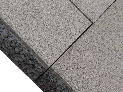 灰色仿花岗岩透水砖