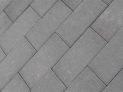 灰色仿石材透水砖