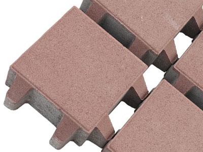 井字草坪砖