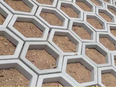 六边形植草砖
