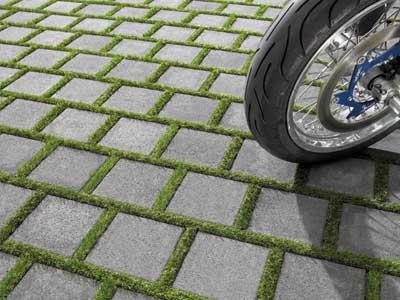 停车场植草砖