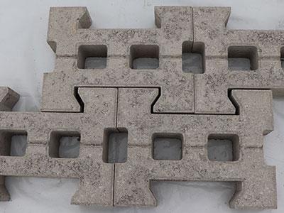 连锁式护坡砖